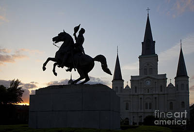 Photograph - Jackson Square by Jim West