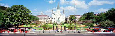Jackson Square, New Orleans, Louisiana Art Print by Panoramic Images