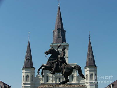 Photograph - Jackson Square Salute by Kevin Croitz