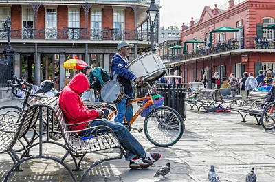 Photograph - Jackson Square Story by Kathleen K Parker
