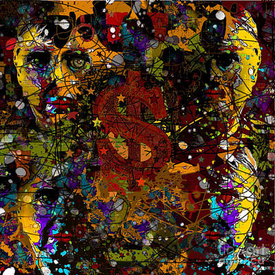 Jackson Warhol Me Art Print
