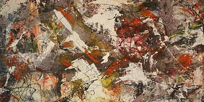 Artist Process Painting - Jackson's Love by Bradley Carter