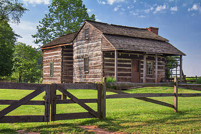 Photograph - Jacksons Mill Cabin by Mary Almond