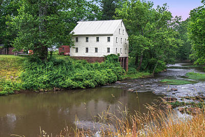 Photograph - Jacksons Mill In The Rain by Mary Almond