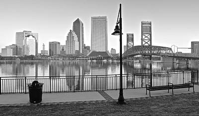 Photograph - Jacksonville Black And White Ay by Frozen in Time Fine Art Photography
