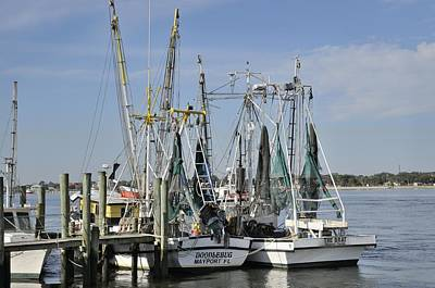 Photograph - Jacksonville Fishing Boats by Bradford Martin