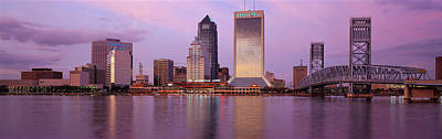 Jacksonville Fl Art Print by Panoramic Images