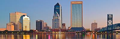 Photograph - Jacksonville Florida Panorama by Frozen in Time Fine Art Photography
