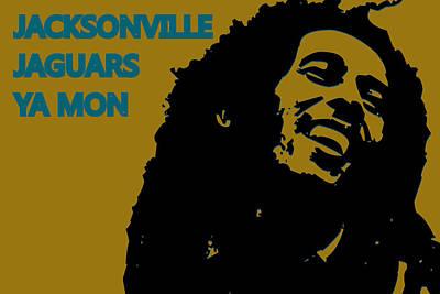 Jacksonville Jaguars Ya Mon Art Print