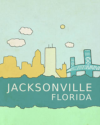 Jacksonville Art Print by Lisa Barbero