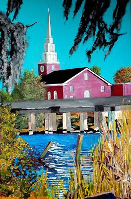 Jacksonville Nc A First Impression Art Print by Jim Phillips