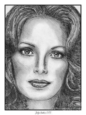 Jaclyn Smith In 1976 Art Print