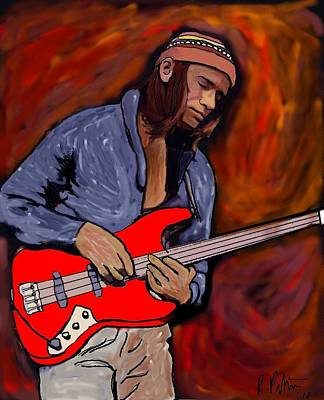 Digital Art - Jaco by Rob Peters