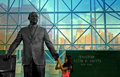 Former Senators Photograph - Jacob K. Javits by Diana Angstadt
