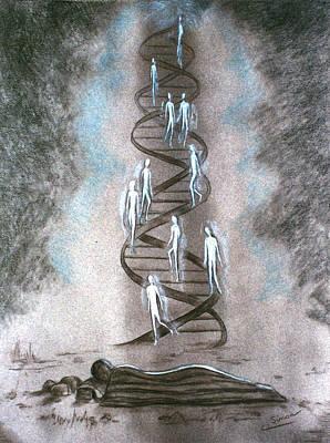 Jacob's Ladder Original by Cati Simon
