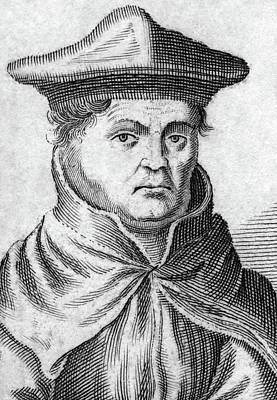 Inquisition Painting - Jacobus Latomus (c1475-1544) by Granger