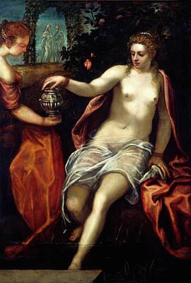 Jacopo Tintoretto, Susanna, Italian, 1518-1594 Art Print