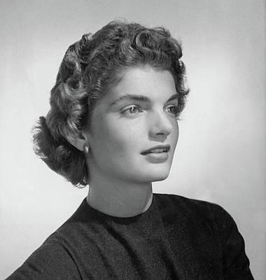 Jacqueline Kennedy Onassis Art Print by Horst P. Horst