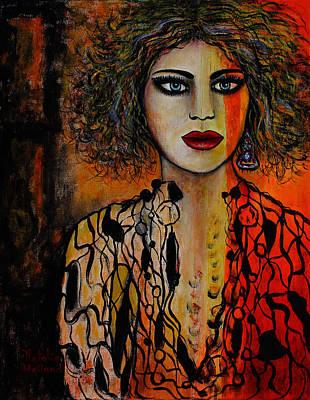Jacquelyn Art Print by Natalie Holland