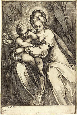Jacques Bellange, French C. 1575-died 1616 Art Print by Litz Collection