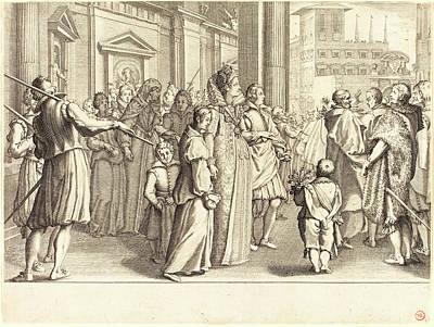 Jacques Callot, French 1592-1635, Grand Duchess Art Print