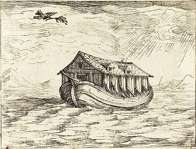 Jacques Callot French, 1592 - 1635, Noahs Ark Art Print