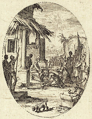 Jacques Callot French, 1592 - 1635, The Adoration Art Print by Quint Lox