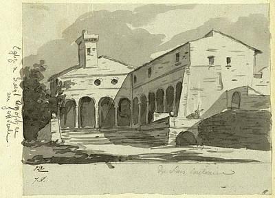 Jacques-louis David, Church Of Sant Onofrio, Rome Art Print