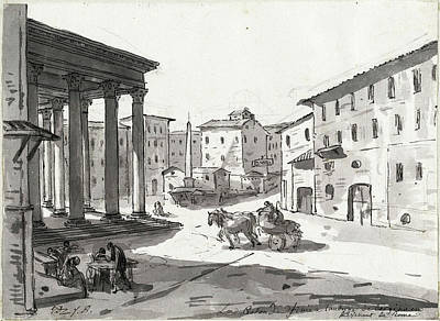 Jacques-louis David, The Pantheon, French Art Print