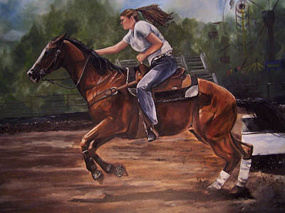 Painting - Jacy by Kathy Laughlin