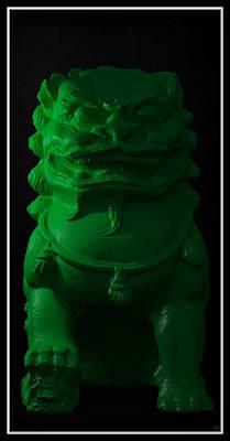 Art Print featuring the digital art Jade... by Tim Fillingim