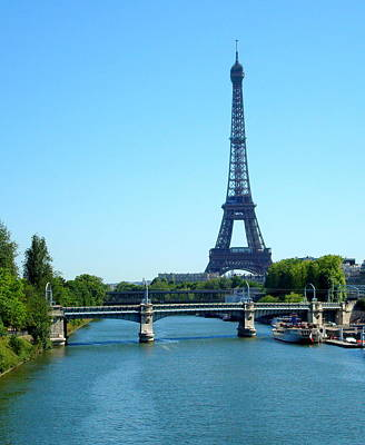 Art Print featuring the photograph J'adore Paris by Kay Gilley