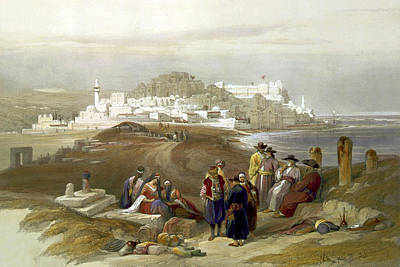 Photograph - Jaffa Ancient Joppa April 16th 1839 by Munir Alawi