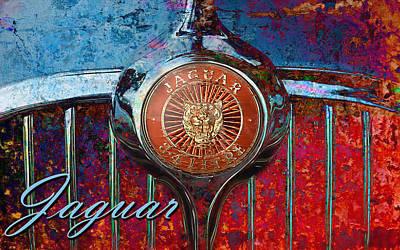 Digital Art - Jag Hood by Greg Sharpe