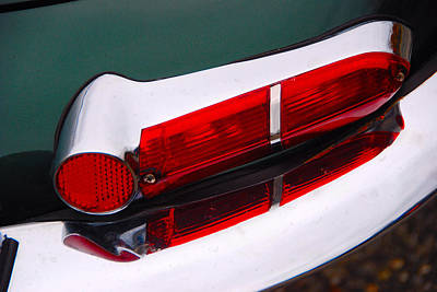 Photograph - Jag Light by John Schneider