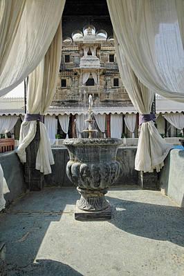 Adam Photograph - Jag Mindar Palace, Lake Pichola by Adam Jones