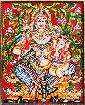 Painting - Jaganmatha by Jayashree