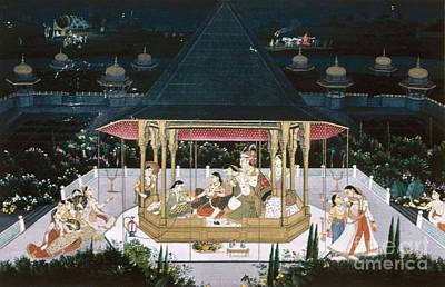 Concubine Photograph - Jagat Singh II Bahadur by Granger