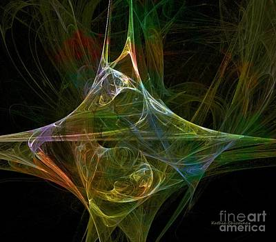 Digital Art - Jagged Edge by Kathie Chicoine