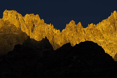 Photograph - Jagged Golden Sunsets by Rohit Chawla