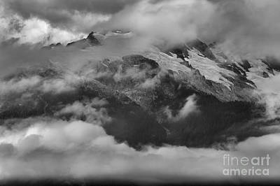 Photograph - Jagged Peaks Among The Clouds by Adam Jewell