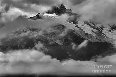 Photograph - Jagged Peaks Glaciers And Storms by Adam Jewell