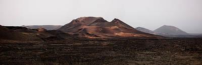 Photograph - Jagged Volcano Cone In Timanfaya Natural Park Lanzarote by Weston Westmoreland