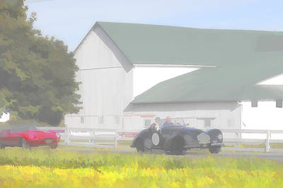 Photograph - Jaguar And Allard by Jack R Perry