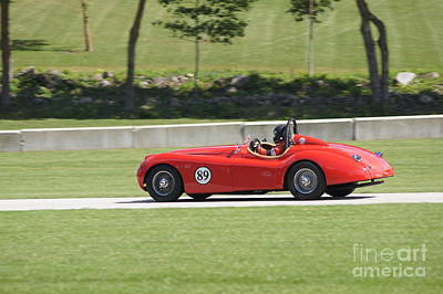 Photograph - Jaguar At Road America by Neil Zimmerman