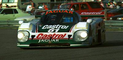 Photograph - Jaguar Castrol 61 Daytona Imsa by Martin Sullivan