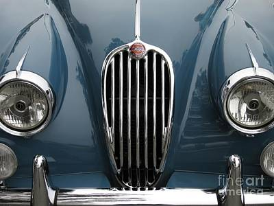 Photograph - Jaguar Grille by James B Toy
