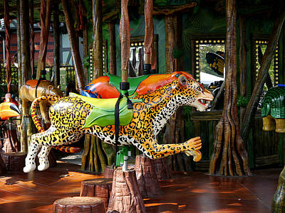 Photograph - Jaguar Ride by Richard Reeve