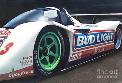 Automobilia Painting - Jaguar by Robert Hooper