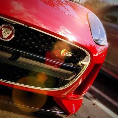 Auto Mixed Media - Jaguar by Robert Smith